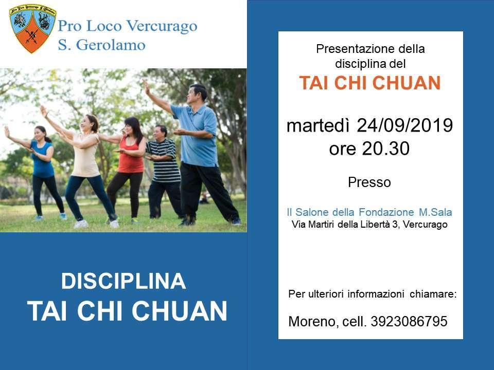 disciplina TAI CHI CHUAN